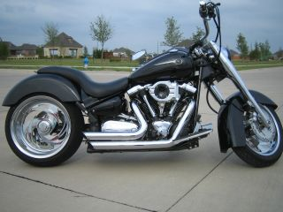 2004 Yamaha Chopper Road Star Midnight photo