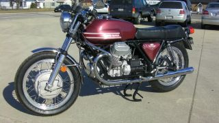 1973 Moto Guzzi V7 Sport Fresh Restoration photo
