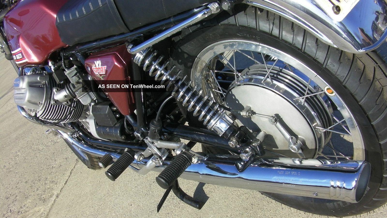 1973 moto guzzi v7 sport fresh restoration. Black Bedroom Furniture Sets. Home Design Ideas