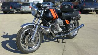 1974 Moto Guzzi 850t 750s Tribute photo