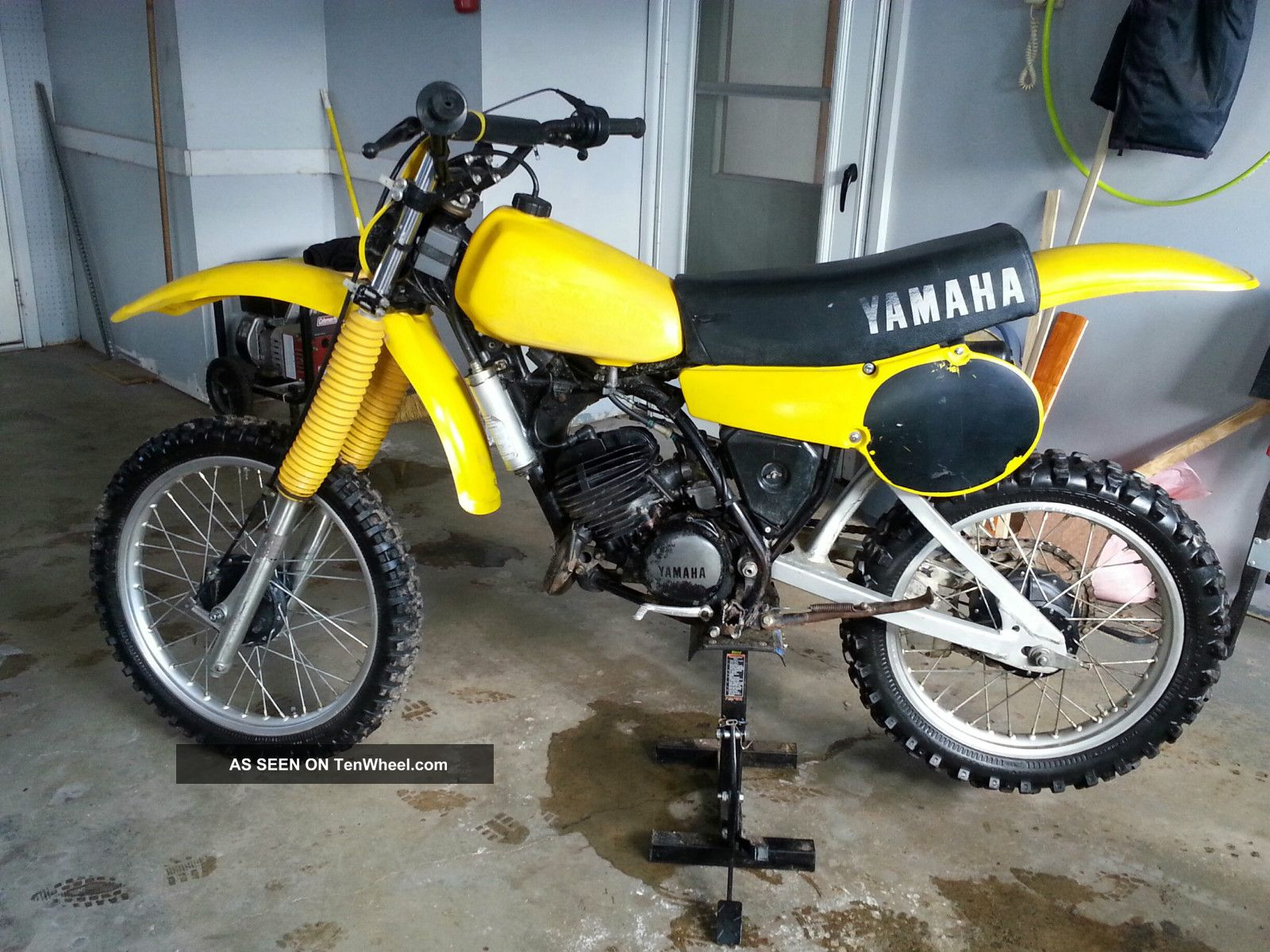yamaha yz125 1980 vintage motocross. Black Bedroom Furniture Sets. Home Design Ideas
