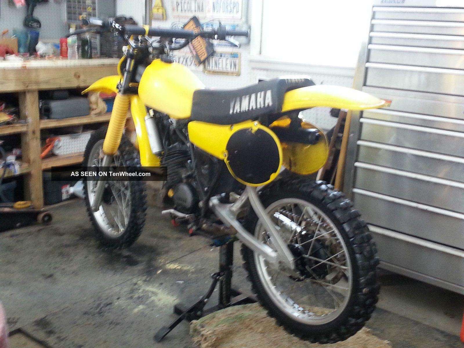 ... Yamaha Yz125 1980 Vintage Motocross YZ photo 2 ...