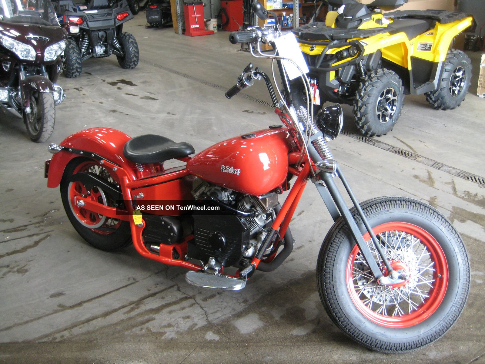 2007 Ridley Auto - Glide Old School Motorcycle Auto Glide Bike Bobber Cruiser Other Makes photo