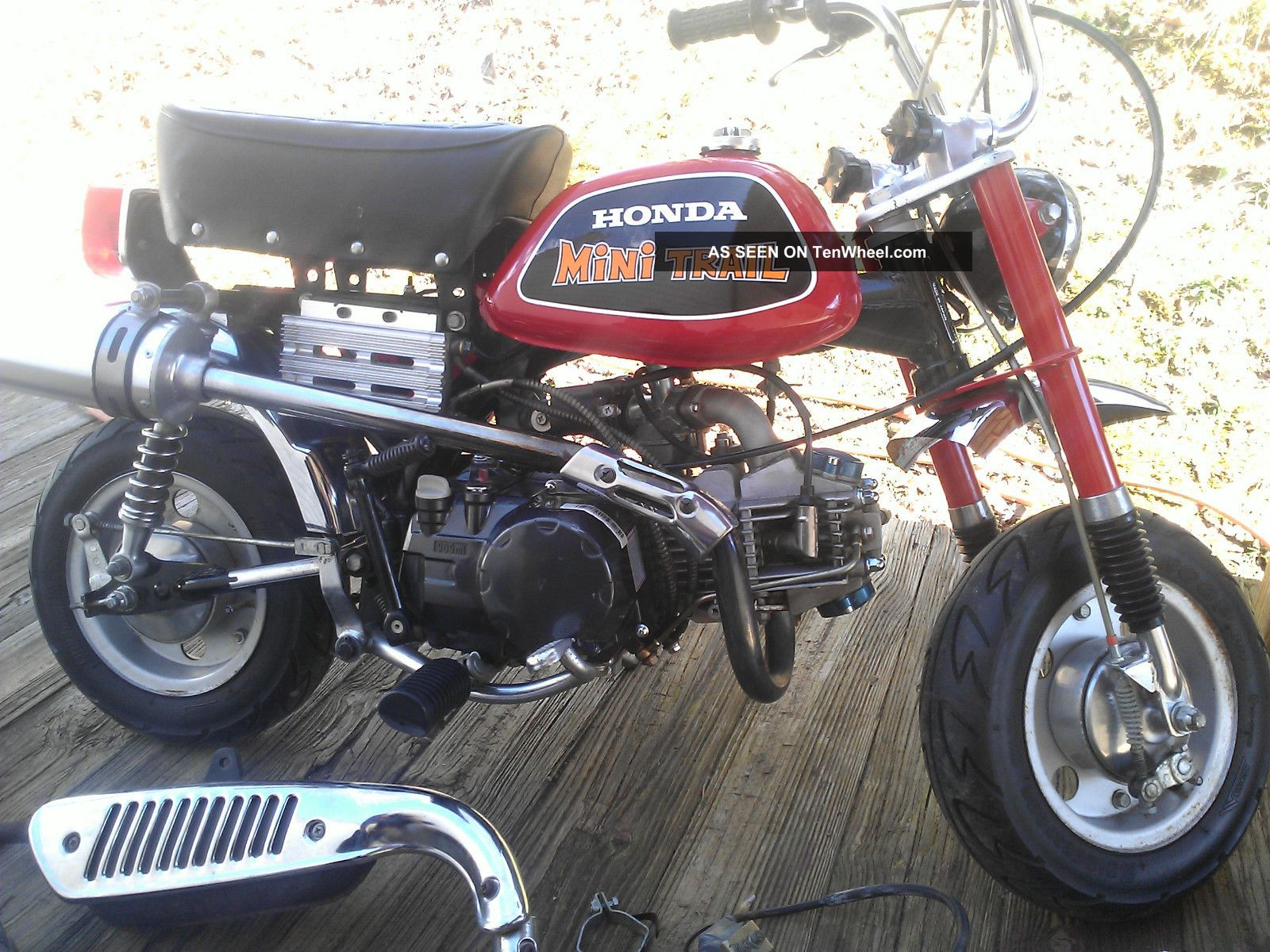 Motorcycles Honda Other Web Museum 1970 Mini Trail 50 1972 Z Z50 Ak3 Minitrail With 150cc Modified Pit