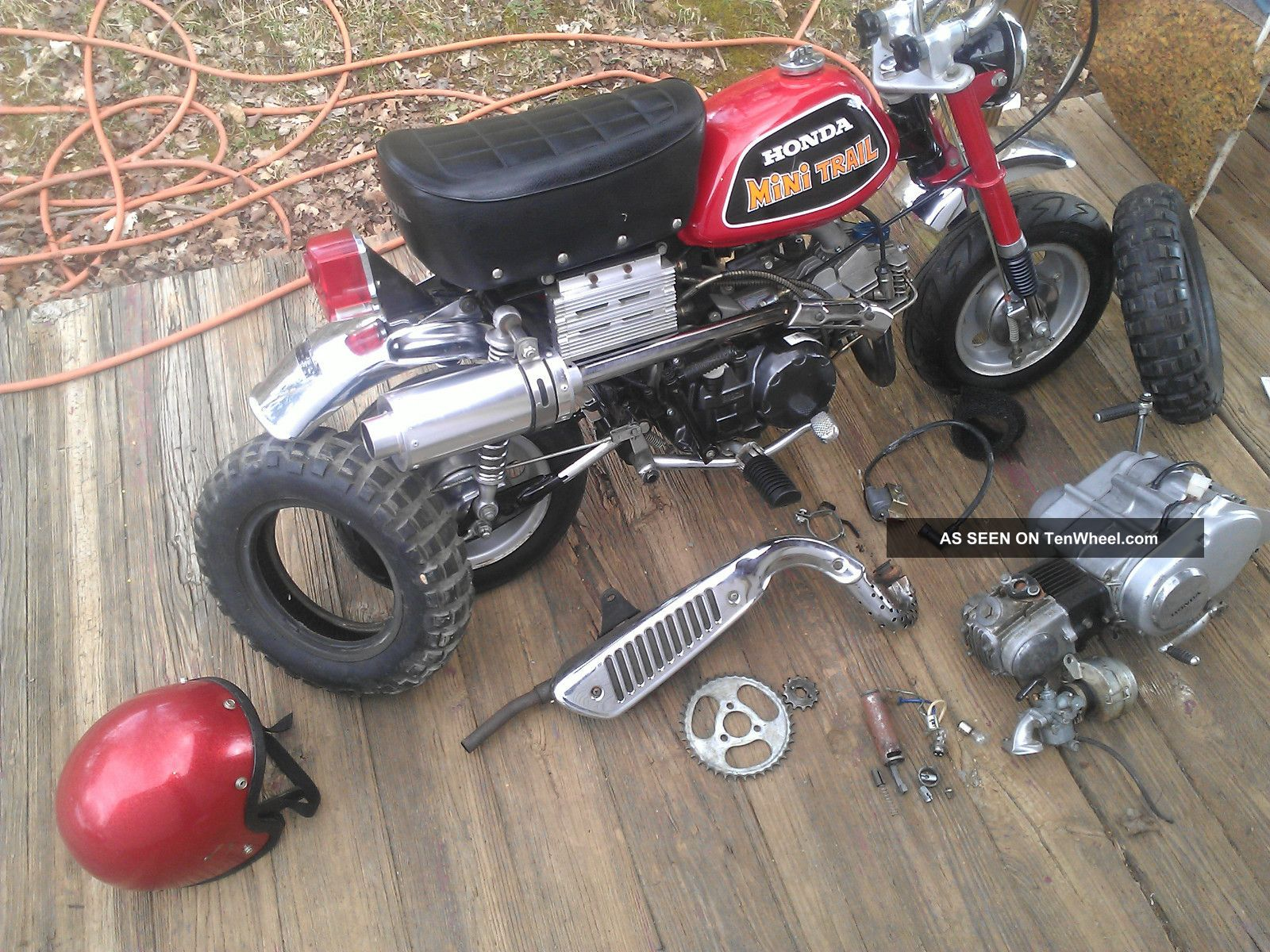 Indian Trail Dodge >> 1972 Honda Z 50, Z50, Ak3, Minitrail, With 150cc Modified, Pit Bike / Monkey Bike