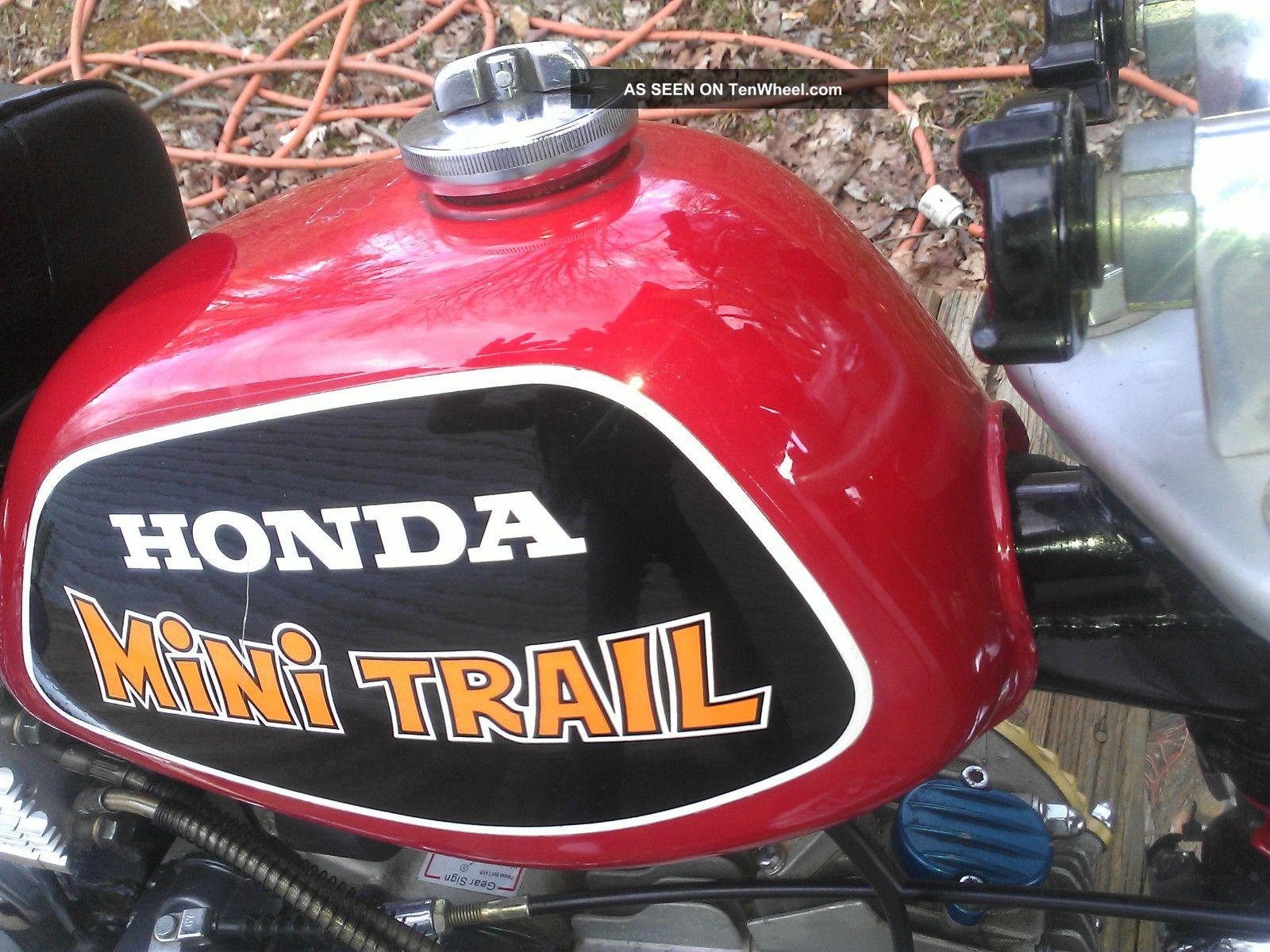 3 Wheel Motorcycle Honda >> 1972 Honda Z 50, Z50, Ak3, Minitrail, With 150cc Modified ...