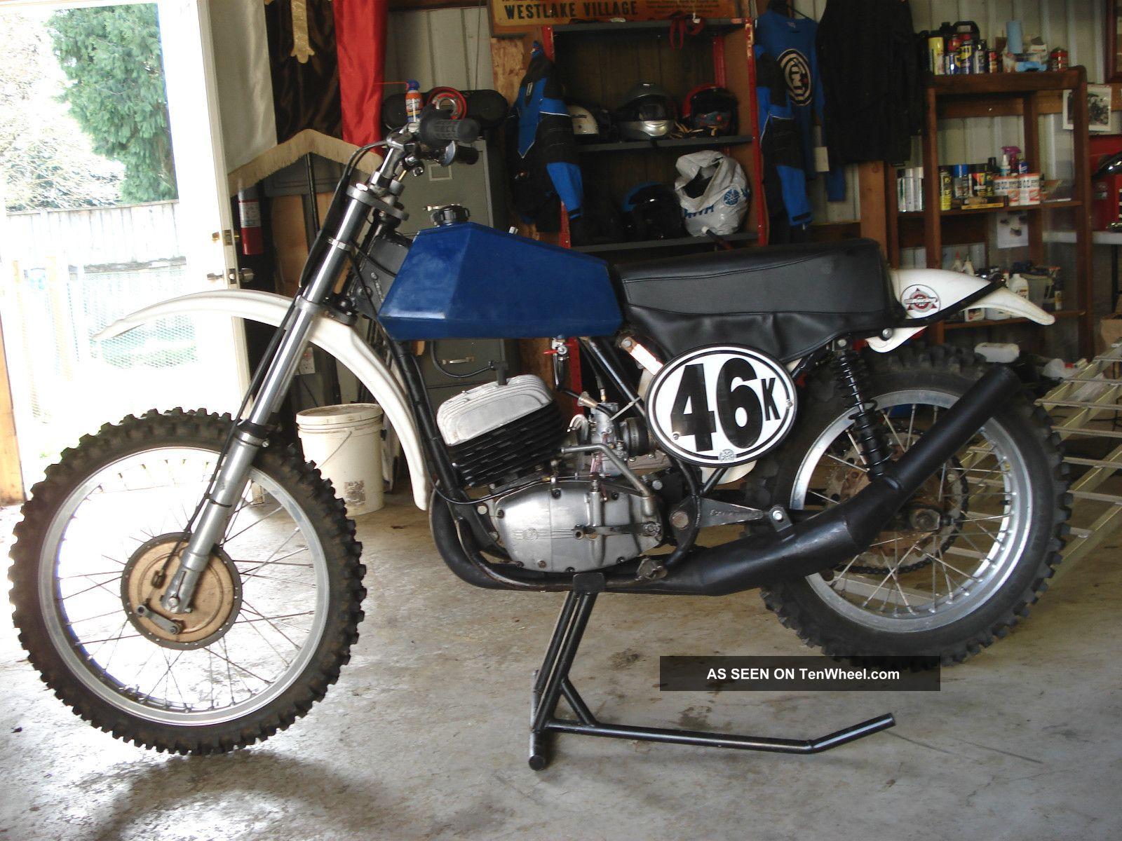 1972 Cz 380cc Mx Ahrma Ready Other Makes photo