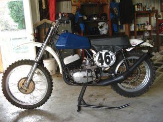 1972 Cz 380cc Mx Ahrma Ready photo