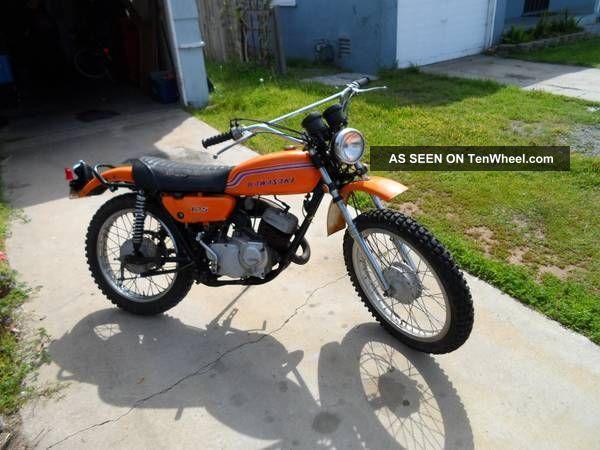1972 Kawasaki 125 Dirt Bike