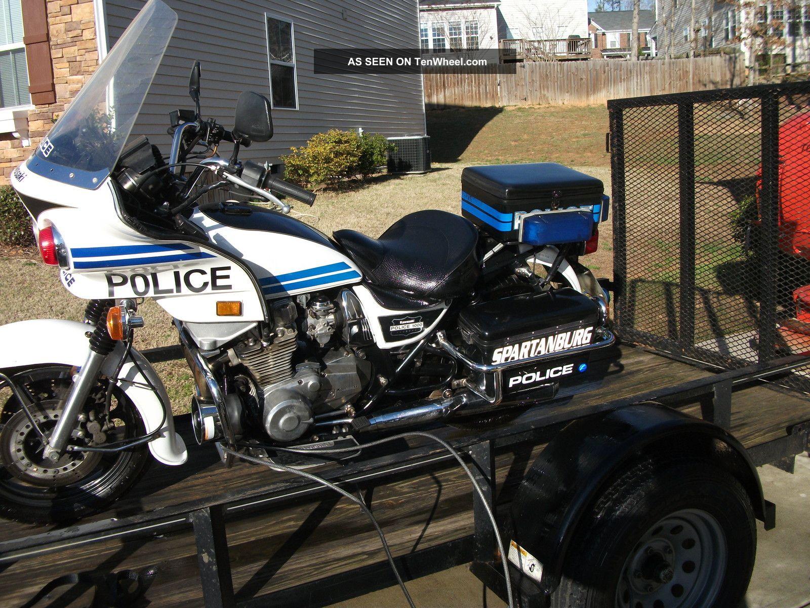Kawasaki Kz Police Specs