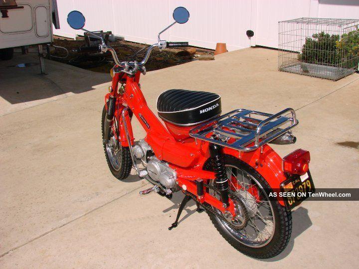 1969 Honda Ct90 K1 Trail Bike Classic Motorcycle CT photo