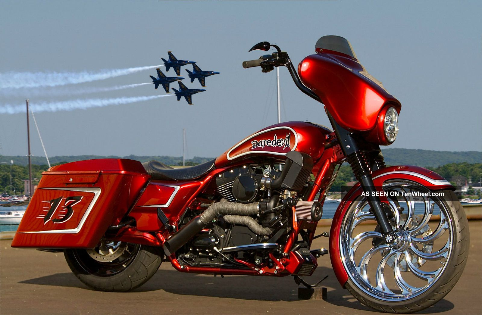 2009 harley davidson street glide turbo one of a kind featured in baggers mag. Black Bedroom Furniture Sets. Home Design Ideas