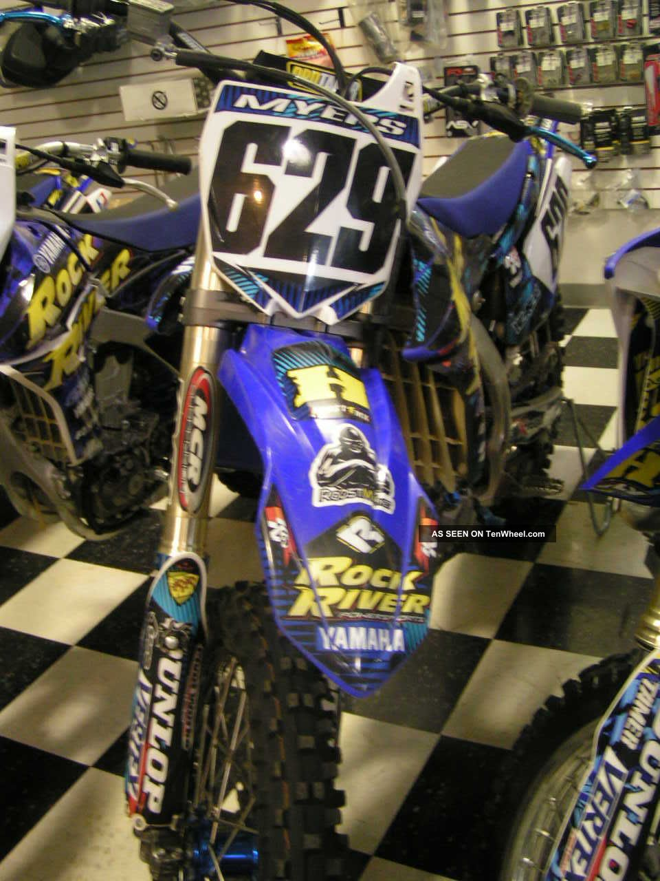 Yamaha Yz450f / 2010 / Gytr Pipe / Kyb Suspension / Rrps Graphics / More YZ photo