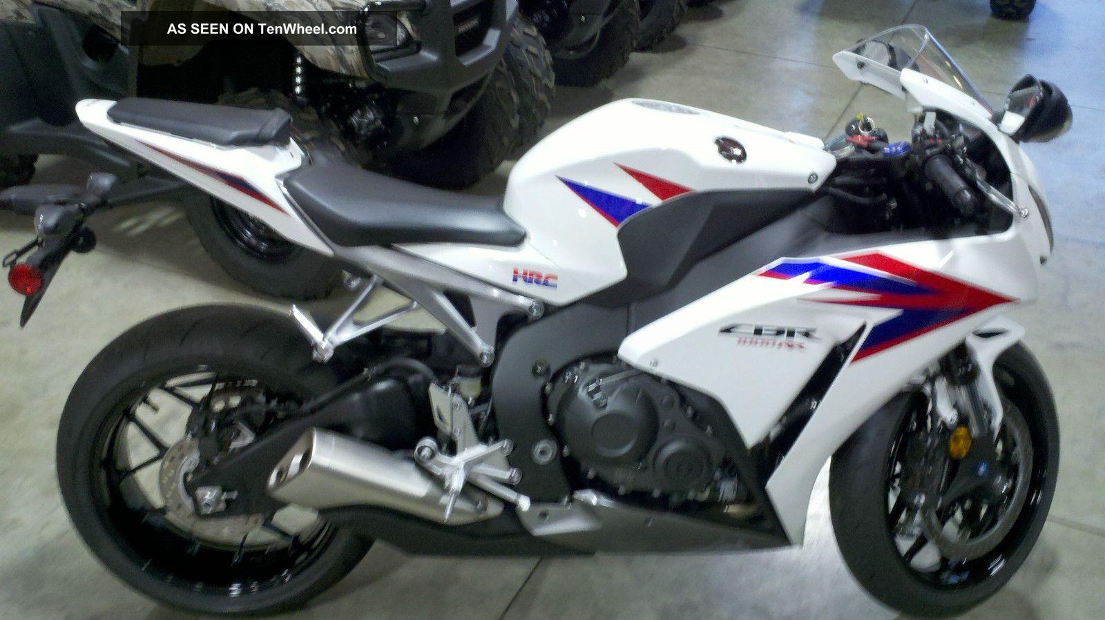 2012 Honda Cbr1000rr 20th Aniversary CBR photo
