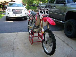 2008 Honda Crf 450 photo