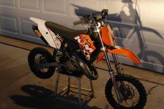 Ktm 50cc 2011 Sxs photo