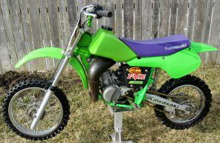 1997 Kawasaki Kx60 Kx 60 Motocross Dirt Bike Mx Youth Off - Road Nr photo
