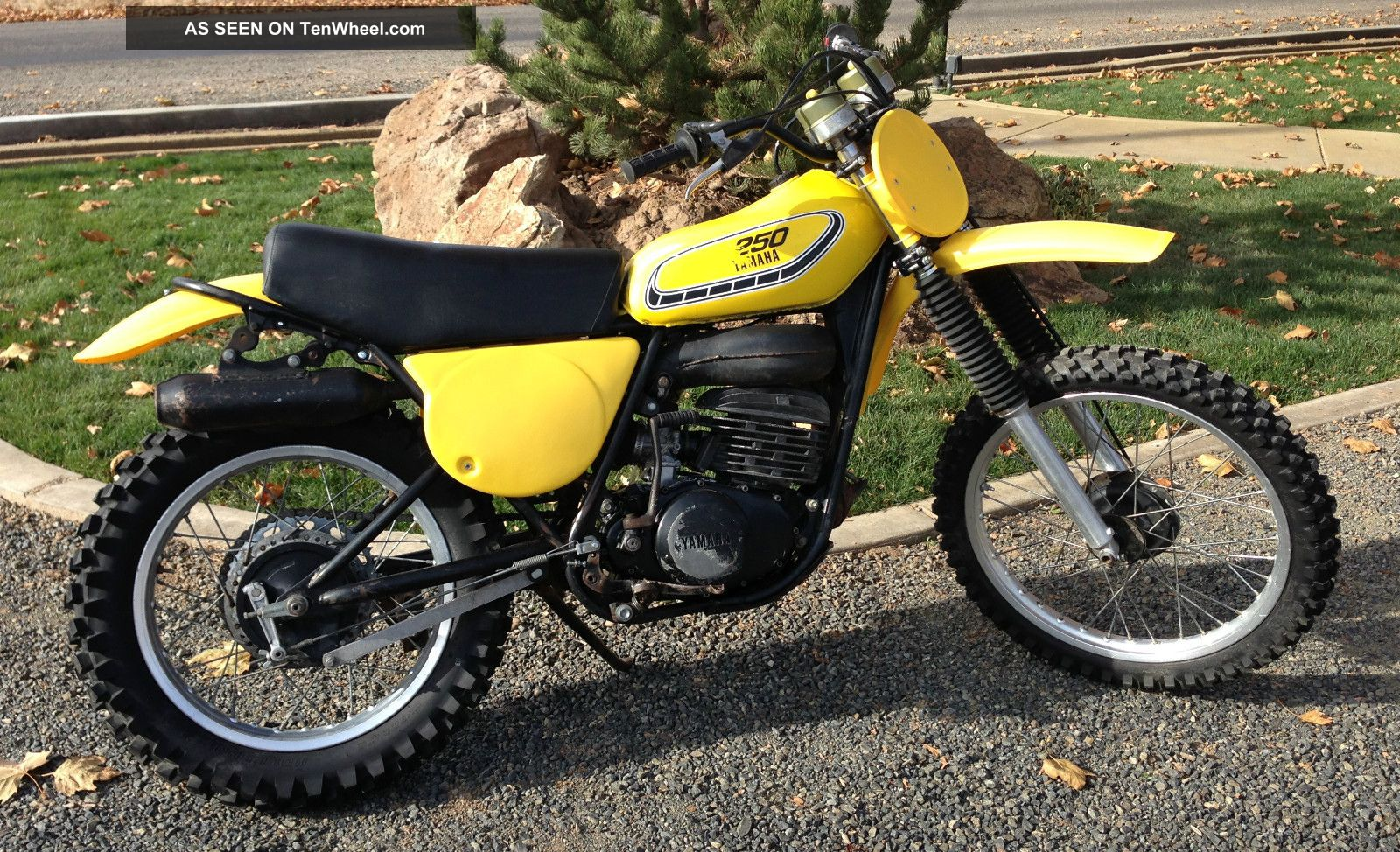 1976 Yamaha Yz250 C YZ photo