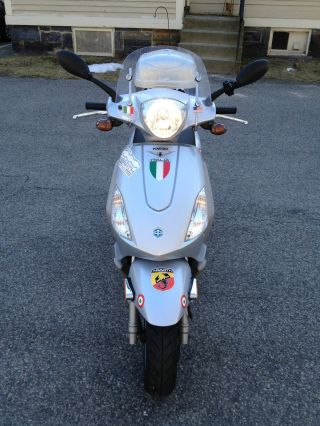 2008 Piaggio Fly 150cc In And With Lots Of Add - Ons - photo