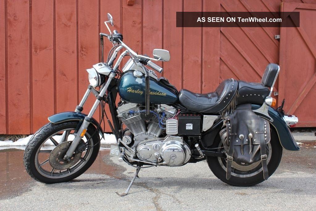 1986 Harley Davidson Sportster Xl883 Bobber Project Hd