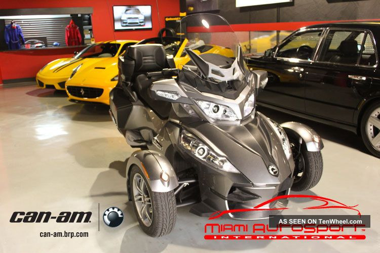 2011 Can Am Spider Rt S Automatic Limited Edition Package Oem Gps Can-Am photo