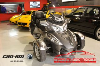 2011 Can Am Spider Rt S Automatic Limited Edition Package Oem Gps photo