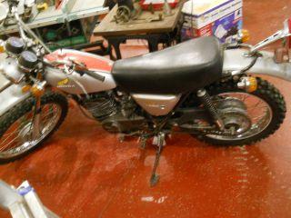 1974 Honda Cr250 Elsinore,  Ahrma Vintage Motocross Bike,  Cr250 Model Mt250 photo