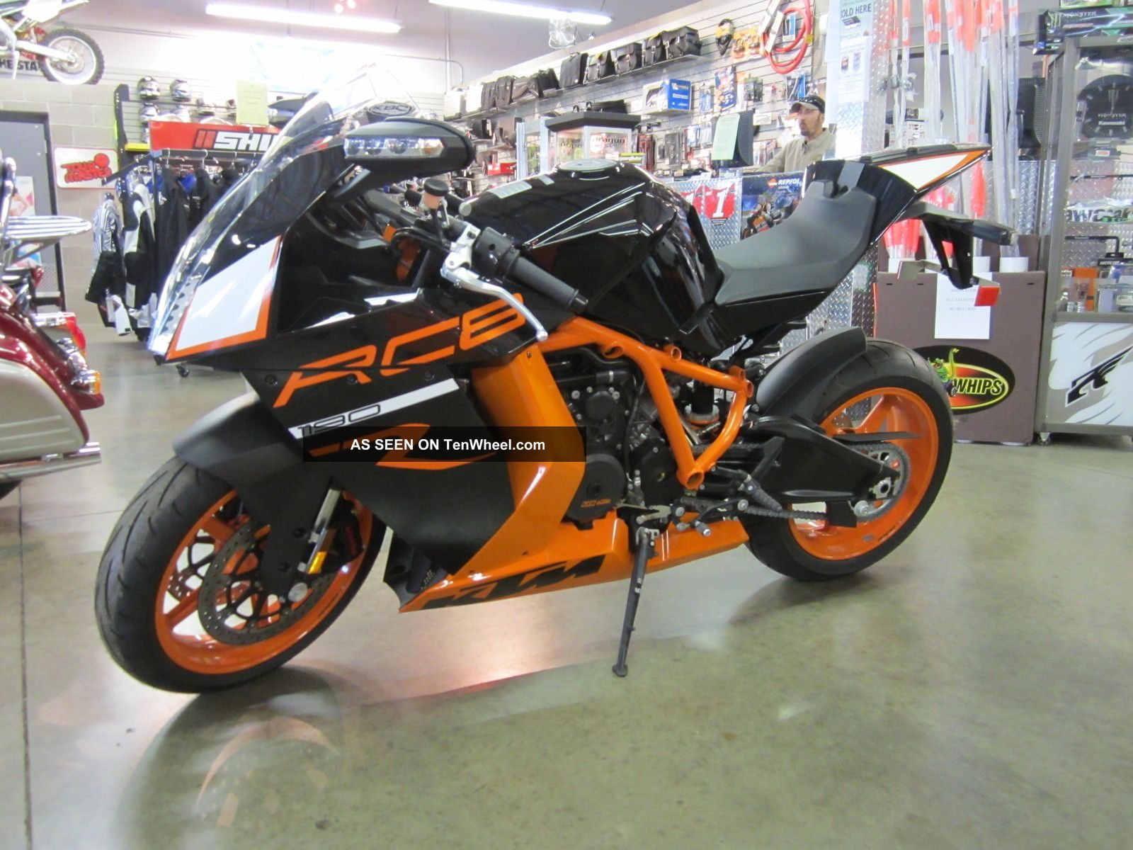 2012 Ktm Rc8r Bike Priced Was $16,  499 Now $13,  999 Nr Other photo