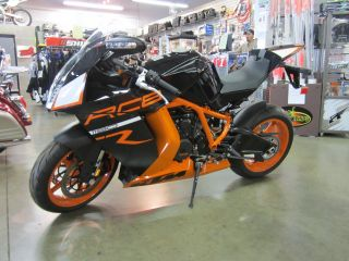 2012 Ktm Rc8r Bike Priced Was $16,  499 Now $13,  999 Nr photo