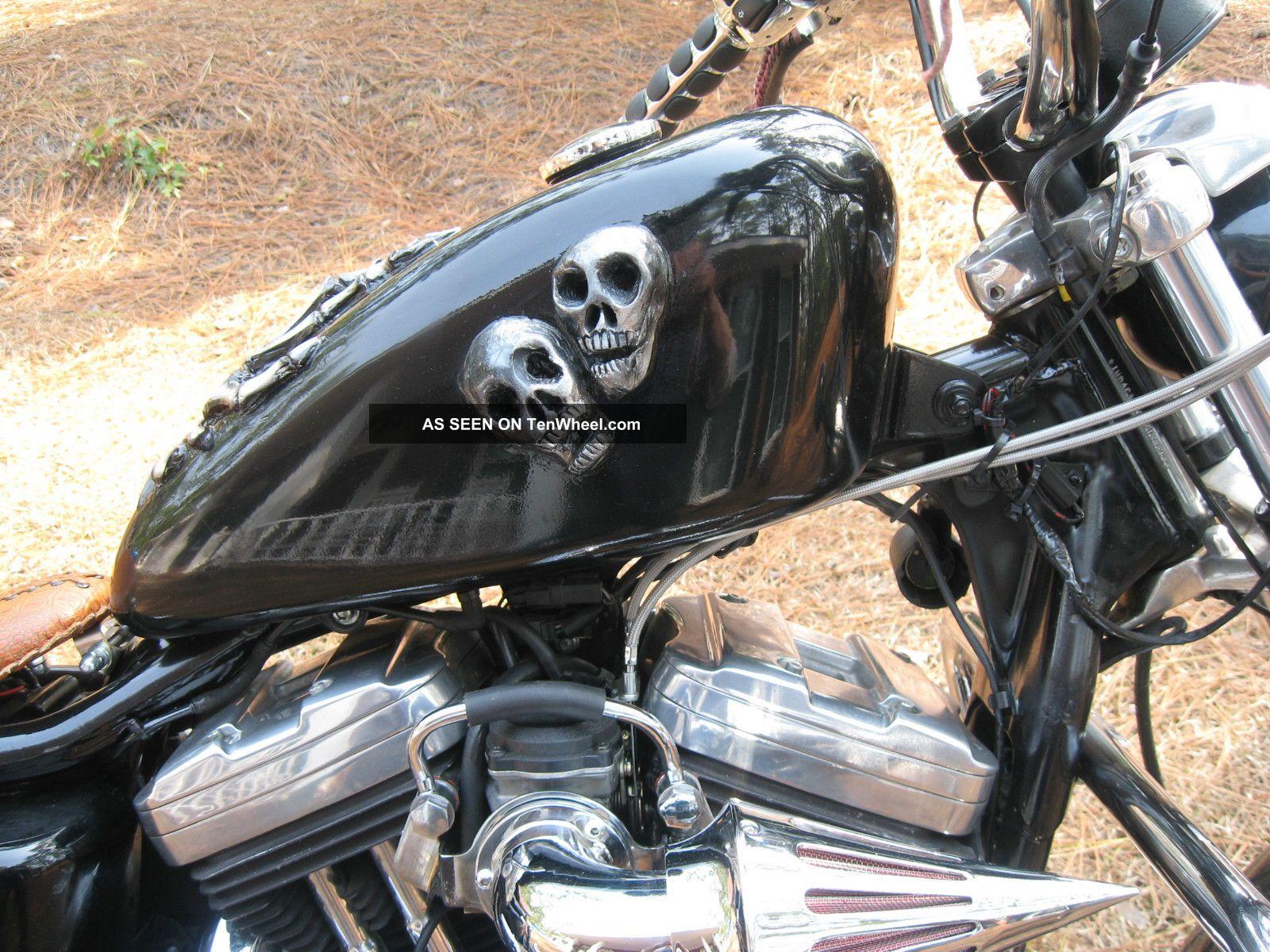 2002 Harley Davidson Sportster 883 Custom Bobber