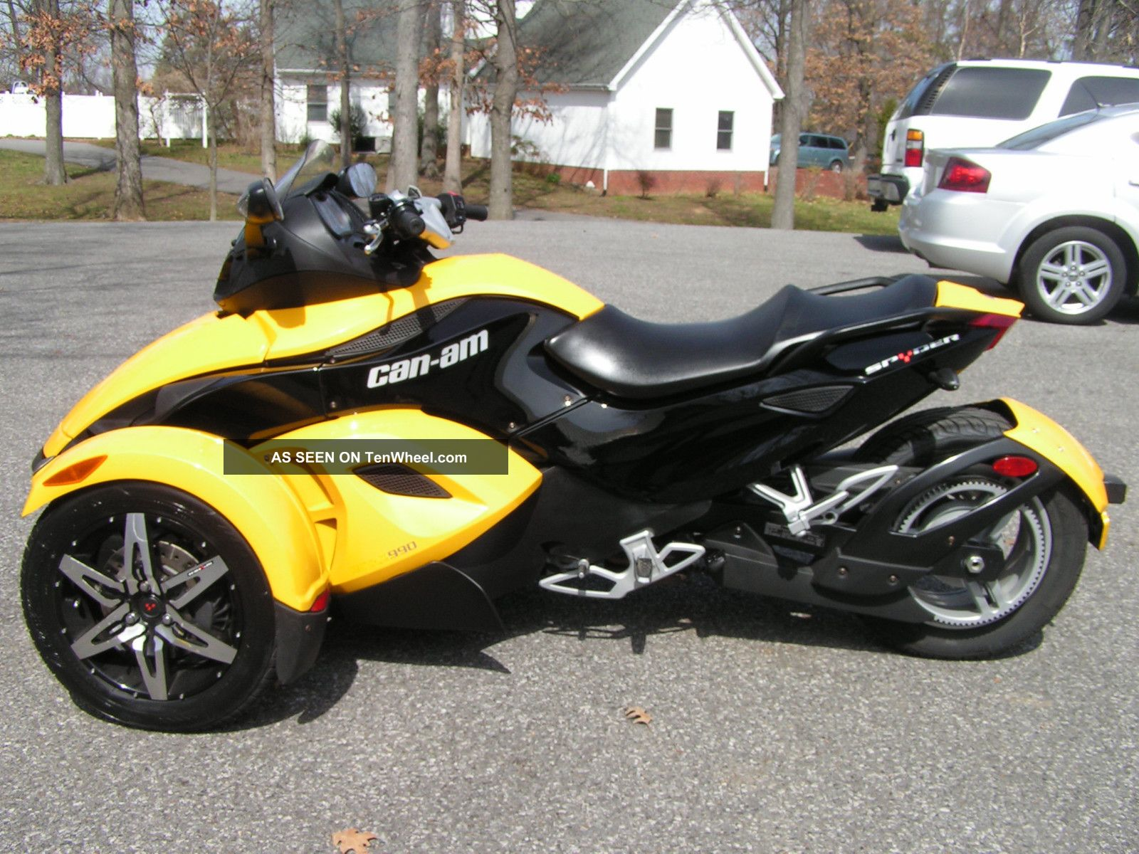 2008 Can - Am Spyder Rs Sm5 Trike Can-Am photo