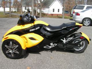 2008 Can - Am Spyder Rs Sm5 Trike photo
