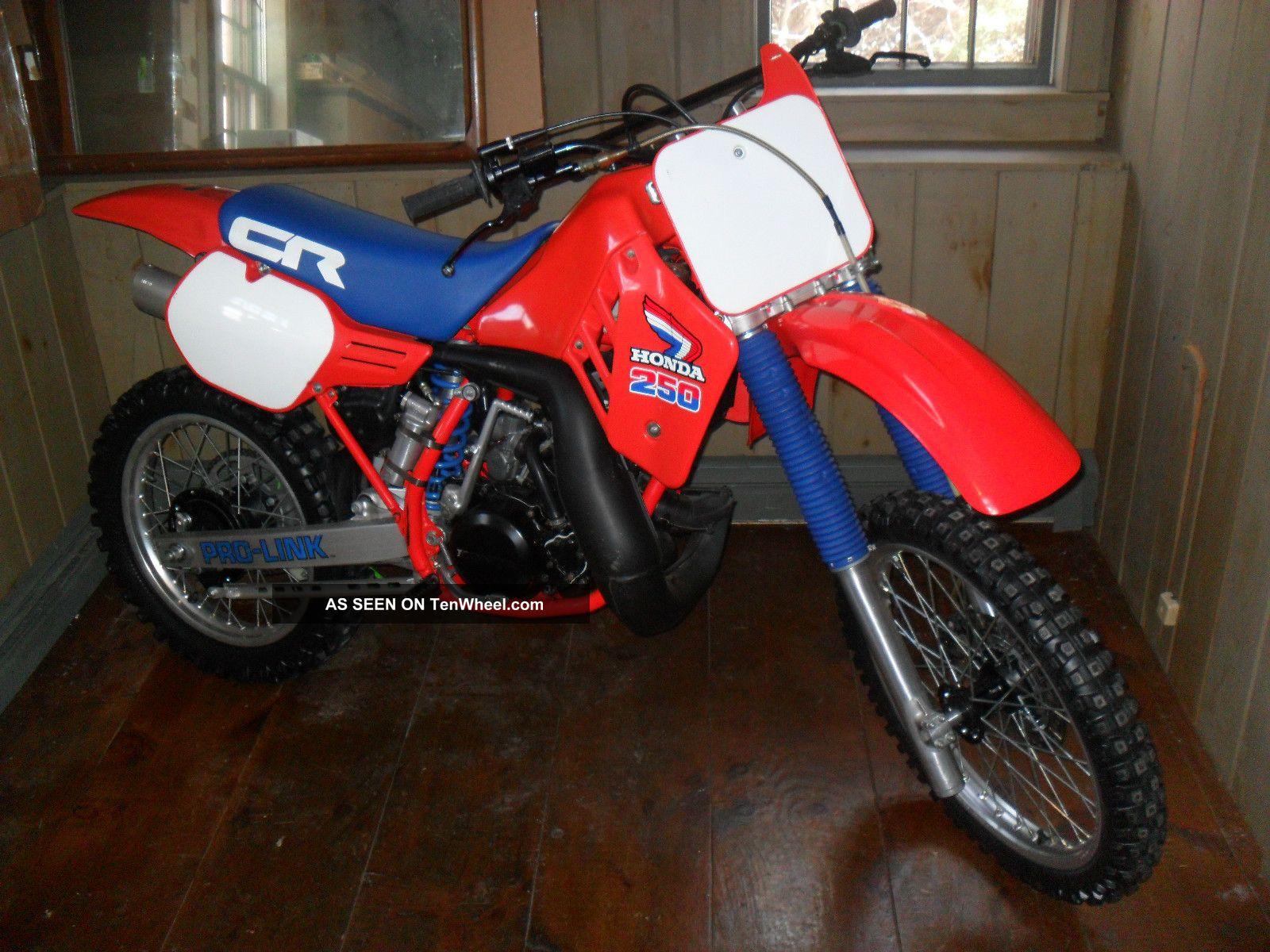 Bike Cr250 Dirt Honda