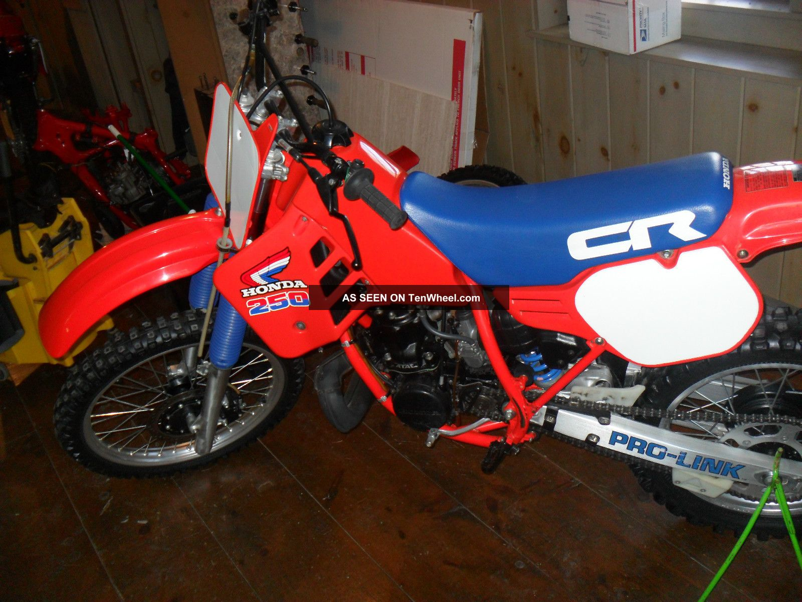 1985 Honda Cr 250 Cr250 Vintage Dirt Bike All 85 Cr 250