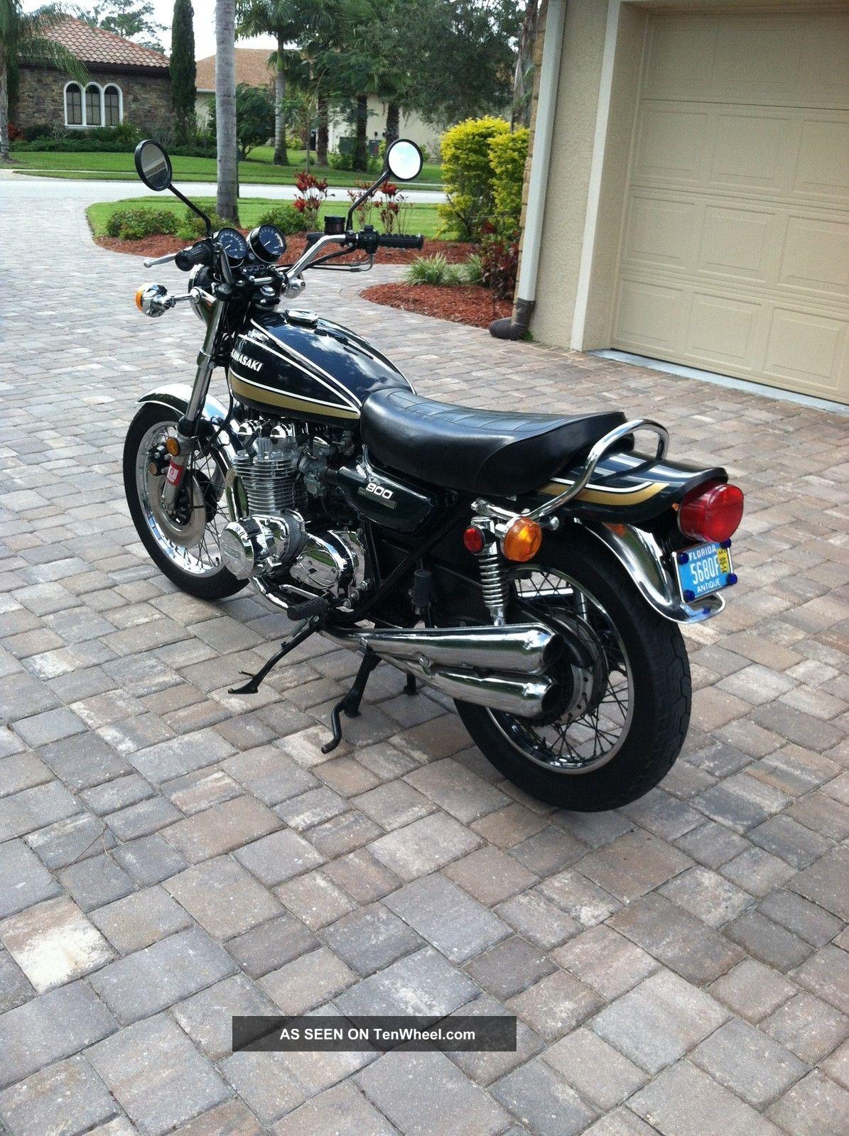 1975 Kawasaki Z1 Motorcycle