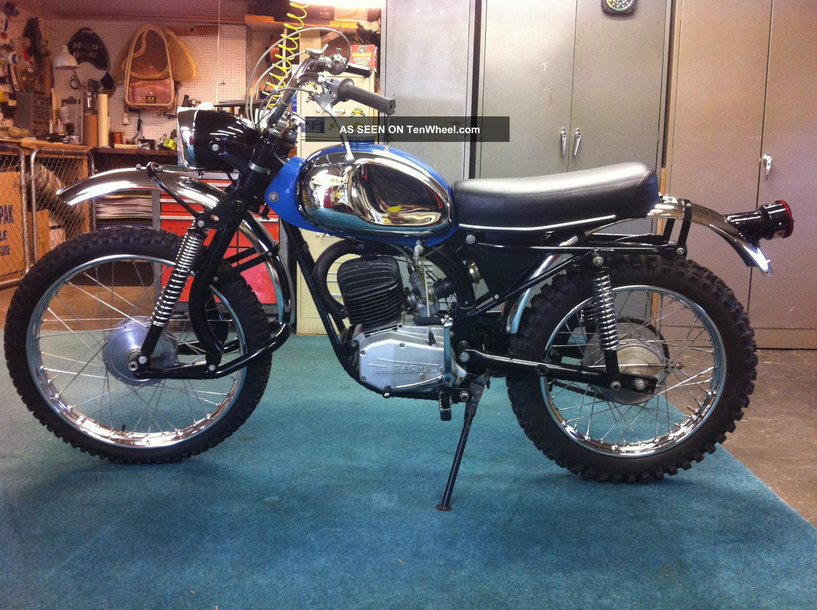 1969 Sachs 125 Cross Country Vintage Survivor Ahrma Other Makes photo