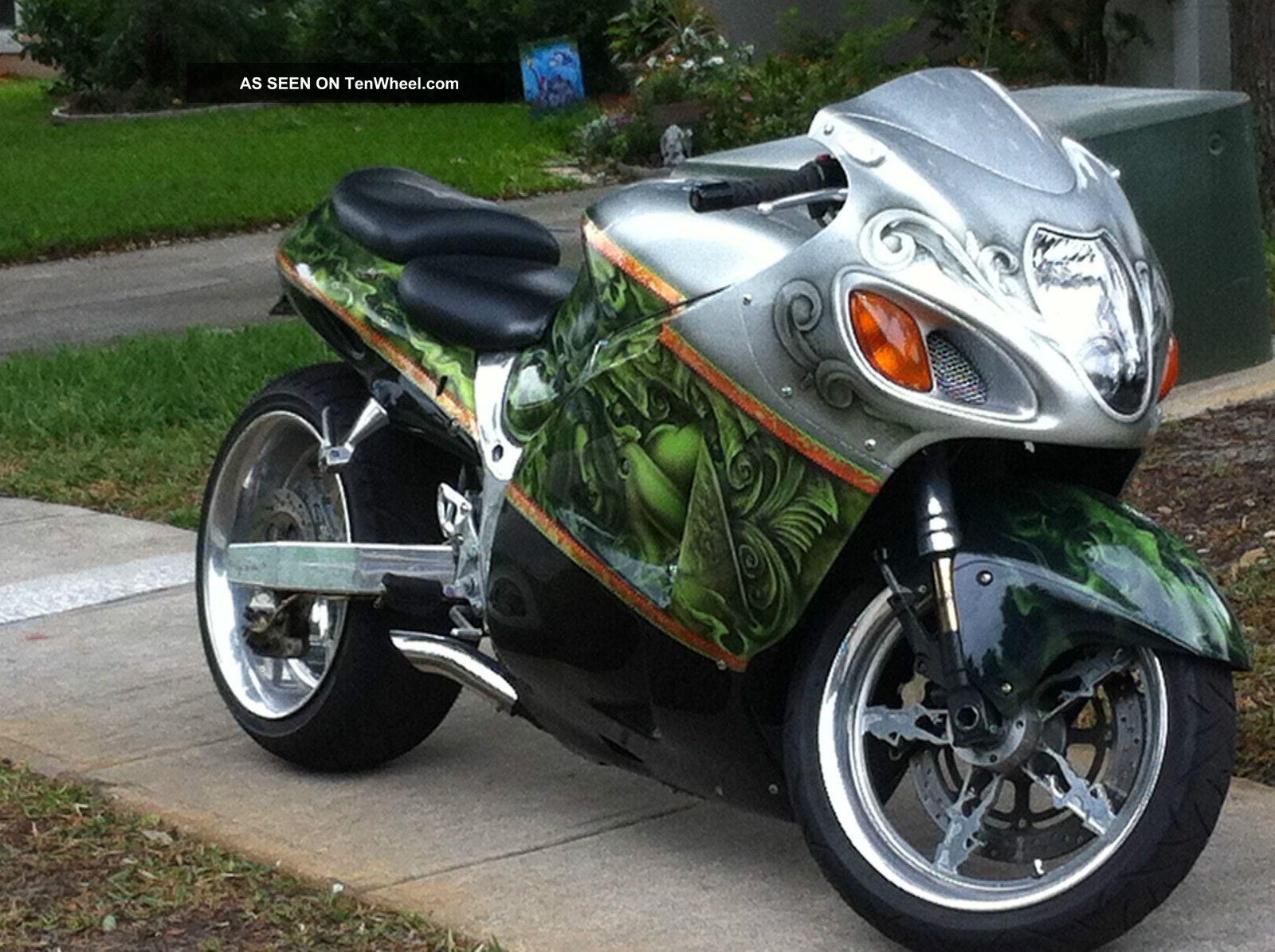 2004 Suzuki Hayabusa 1300 Cc Fully Custom Performance Bike Chad Chambers Paint Hayabusa photo