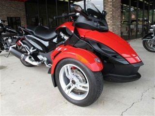 2010 Can Am Spyder Rs Sm5 Lqqk photo