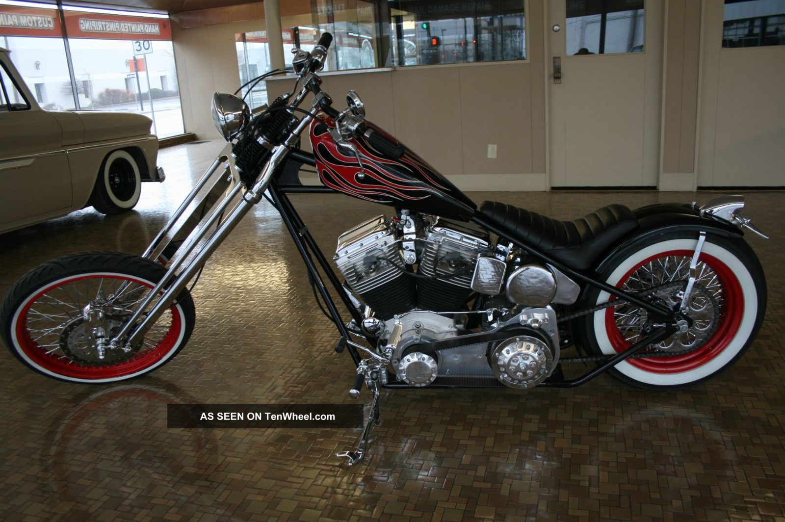 2011 Custom Chopper,  Best Of Everything,  Ride Or Show Chopper photo