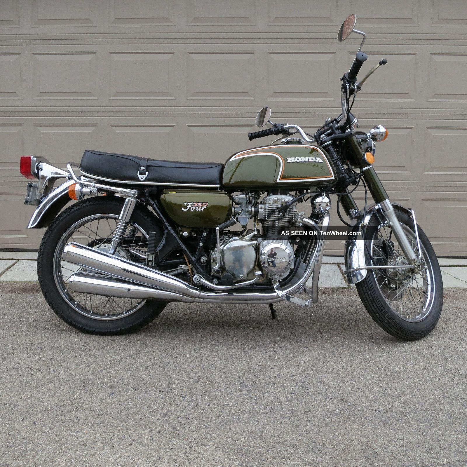 1973 Honda 350 Four 350cc Four Cylinder Rare CB photo