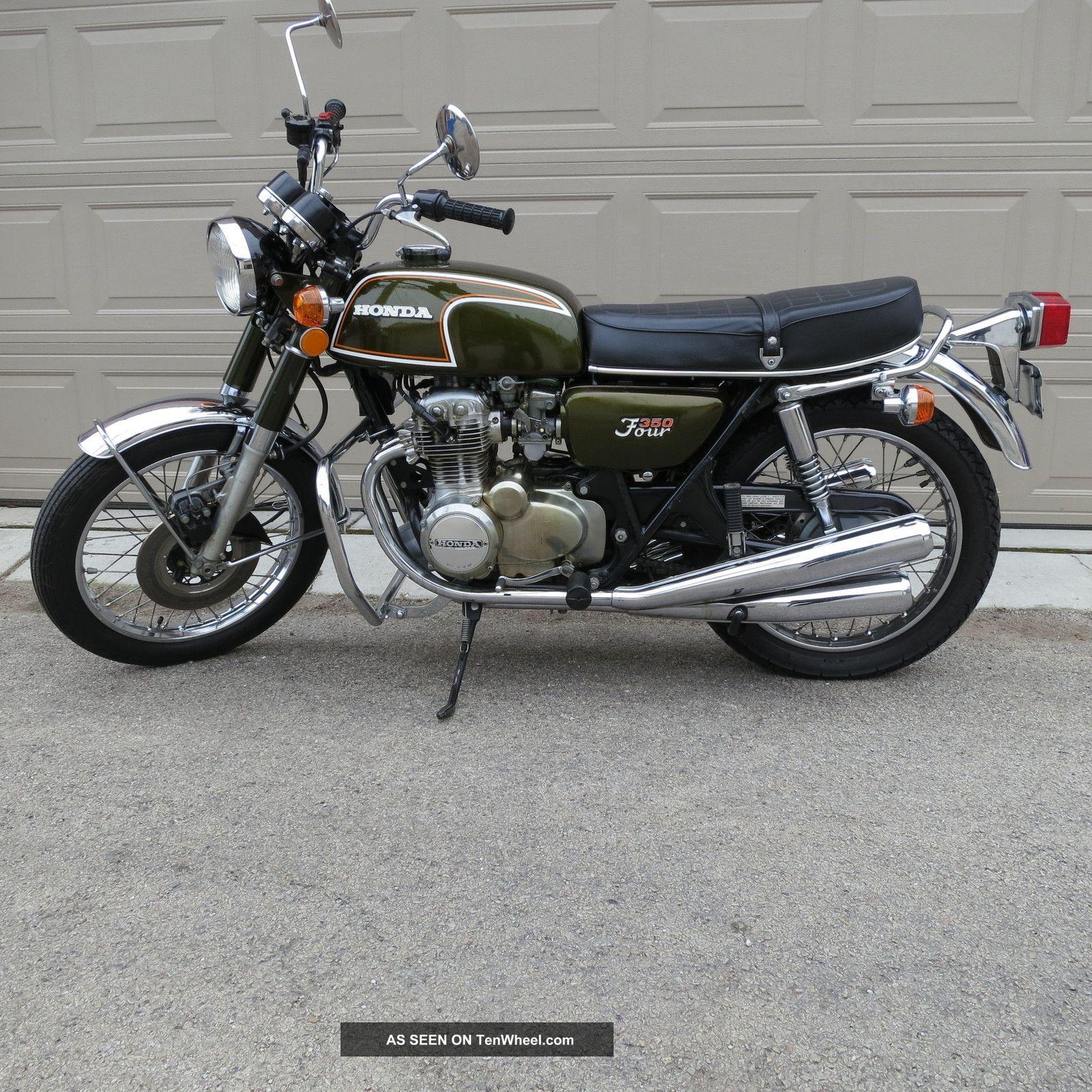 1973 Honda 350 Four 350cc Four Cylinder Rare
