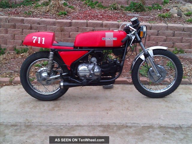 1973 Harley Davidson / Aermacchi Custom Sprint Ss Cafe Racer Other photo