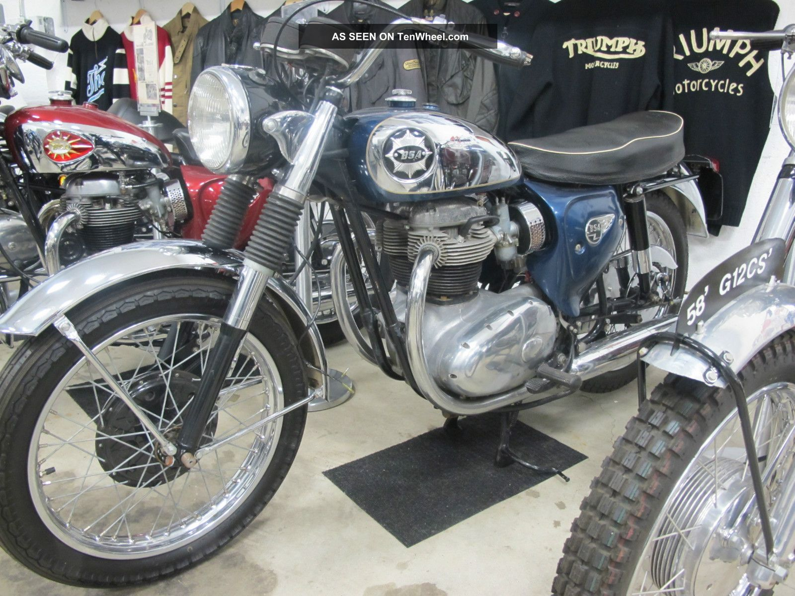1964 Bsa Lightning Rocket Classic BSA photo