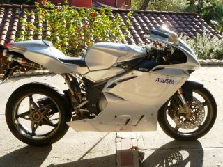 2002 Mv Agusta F4 Special Edition - All Silver photo