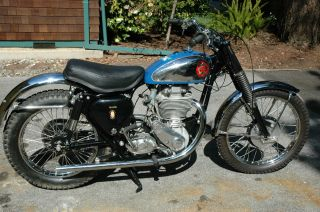 1959 Bsa Catalina Scrambler photo