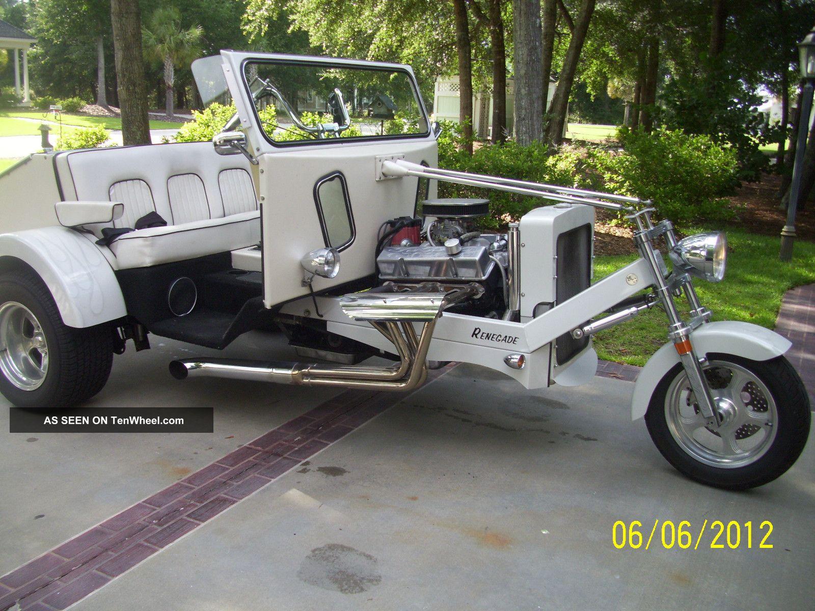 2005 Ecstasy Renegade Designer Series Xt5 Pearl White Trike W / 350 Engine Other Makes photo