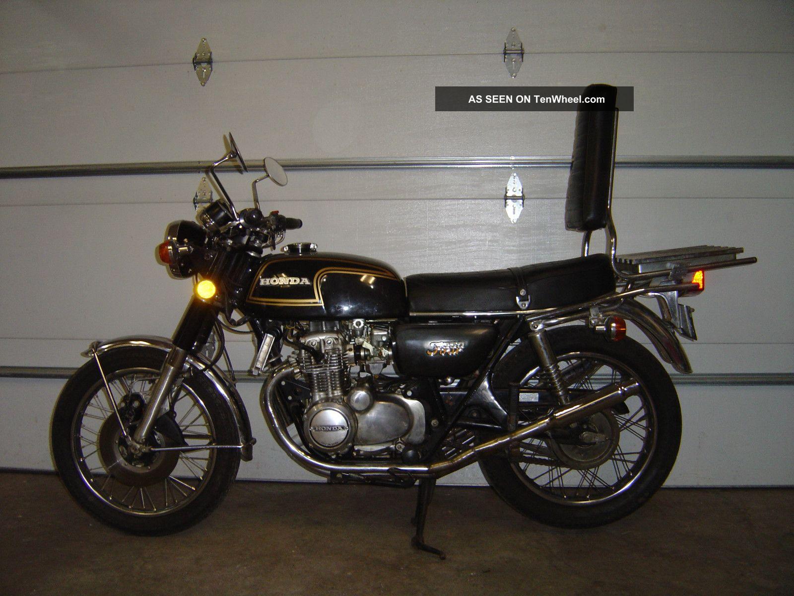 1974 Honda Cb 350 F Cb350f Cb350 350f Four Vintage Running Great Shape No Res CB photo