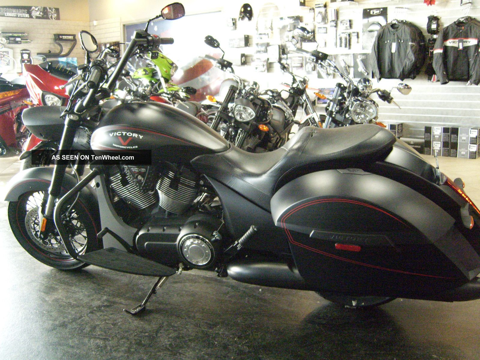 2012 Victory Hardball Motorcycle - Stage 1 Exhaust - Full 3 Yr. Victory photo