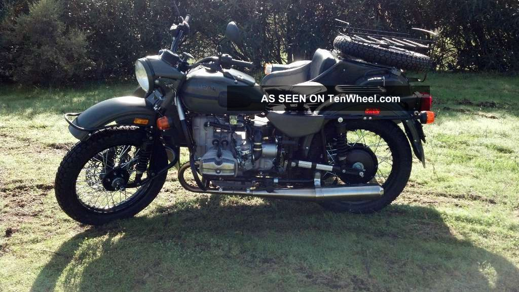 2012 Ural Gear - Up Motorcycle With Sidecar In Forest Fog Ural photo