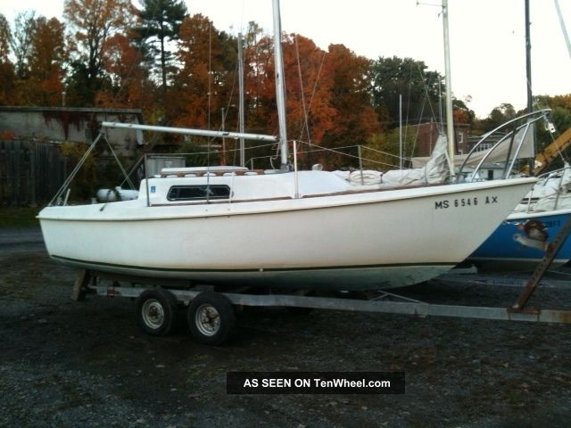 1976 Kells 23 Swing Keel Sloop Sailboats 20-27 feet photo